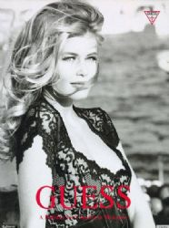 Claudia Schiffer Guess 30th Anniversary Ad Campaign