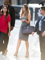 Sofia Vergara is seen at 'Jimmy Kimmel Live