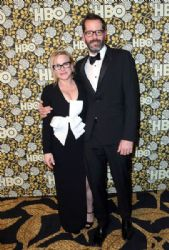Patricia Arquette and Eric White: HBO's Post 2016 Golden Globe Awards Party- Red CarpetMira Sorvino