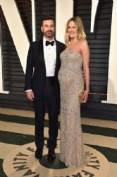 Jimmy Kimmel and Molly McNearney: 2017 Vanity Fair Oscar Party Hosted By Graydon Carter - Arrivals