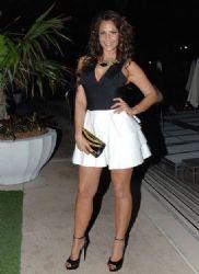 Lorena Rojas: night out