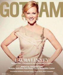 Laura Linney: November 2012 issue of Gotham magazine