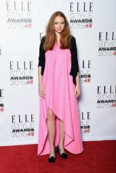 Lily Cole wears Christian Dior - Elle Style Awards 2015