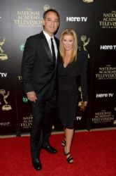 Cady McClain and Jon Lindstrom: The 41st Annual Daytime Emmy Awards - Arrivals
