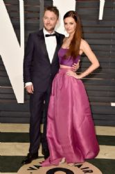 Lydia Hearst and Chris Hardwick: 2015 Vanity Fair Oscar Party