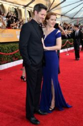 Amy Adams and Darren Le Gallo: 20th Annual Screen Actors Guild Awards - Red Carpet