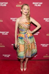 Heather Graham wears Naeem Khan - 'Goodbye To All That' NY Screening