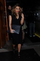 Vanessa White: at Amika club at mayfair London