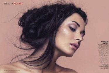 Amy Jackson Vogue India February 2012