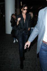 Victoria Beckham: at LAX