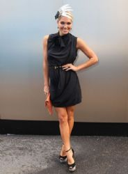 Ashley Hart Attends The Victoria Derby Day