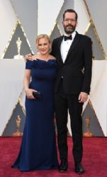 Patricia Arquette and Eric White: 88th Annual Academy Awards - Arrivals
