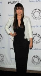 Jenna Ushkowitz: attending the Inaugural PaleyFest Icon Award event at The Paley Center for Media in Beverly Hills