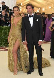 Irina Shayk and Bradley Cooper  :  2018 Met Gala