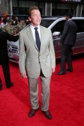 Arnold Schwarzenegger at Expendables 2 Premiere