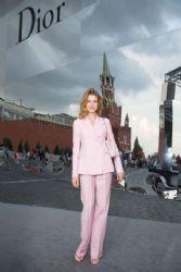 Natalia Vodianova wears Dior - Moscow Dior show