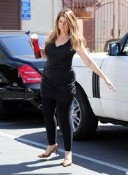 Kirstie Alley arrives at the 'Dancing with the Stars' rehearsals