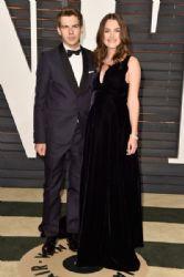 Keira Knightley and James Righton: 2015 Vanity Fair Oscar Party