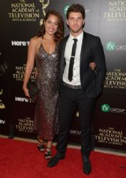 Kelly Thiebaud and Bryan Craig: The 41st Annual Daytime Emmy Awards - Arrivals