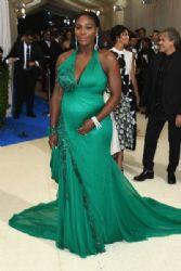 Serena Williams  in Versace :  2017 Met Gala