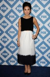 Brenda Strong at the Fox All-star Party at the Langham Huntington Hotel