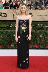 Laura Carmichael wears Christopher Kane Dress:  23rd Annual Screen Actors Guild Awards