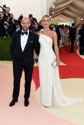 Rosie Huntington-Whiteley and Jason Statham: 'Manus x Machina: Fashion In An Age of Technology' Costume Institute Gala - Arrivals