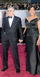 Robert De Niro and Grace Hightower: 85th Annual Academy Awards