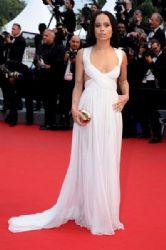 Zoe Kravitz wears Valentino - Cannes Film Festival Premiere