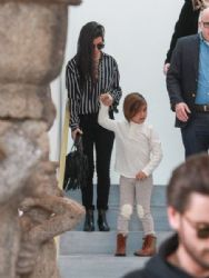 Kourtney Kardashian: goes out in LA