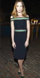 Emily Blunt attends VANITY FAIR and Barneys New York Dinner