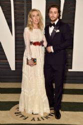 Sam Taylor-Johnson and Aaron Taylor-Johnson: Elton John AIDS Foundation Oscars 2015 Viewing Party