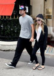 Avril Lavigne and Brody Jenner in Paris