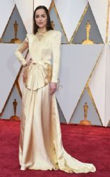 Dakota Johnson in Gucci Dress :  89th Annual Academy Awards - Arrivals