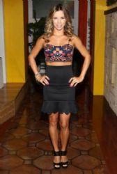 Ximena Duque: on set