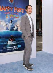 Elijah Wood attends the Premiere of Warner Bros. Pictures'