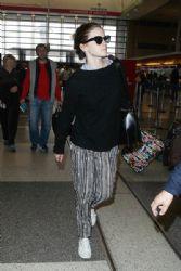 Emma Watson: at LAX