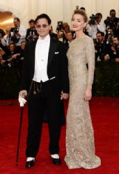 Johnny Depp and Amber Heard: Red Carpet Arrivals at the Met Gala 2014