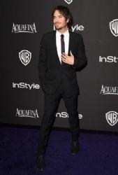 Ian Somerhalder: InStyle And Warner Bros. Golden Globes 2015 Party
