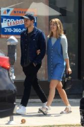 Melissa Benoist and Chris Wood: Melissa Benoist - Out in West Hollywood 06/03/2019