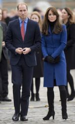 The Duke and Duchess of Cambridge visit Dundee on October 23, 2015