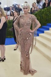 Kylie Jenner in Versace Dress :    2017 Met Gala
