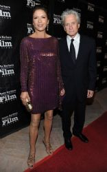 Michael Douglas & Catherine Zeta Jones' SBIFF Awards Nigh