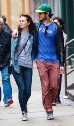 Leighton Meester and  Adam Brody: out and about in New York City