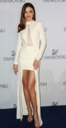 Miranda Kerr at the launch event for Swarovski Exclusive Collection