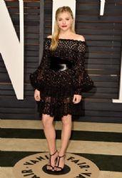 Chloe Grace Moretz: 2015 Vanity Fair Oscar Party