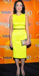 Ann Curry at the Today Show's 60th Anniversary Bash