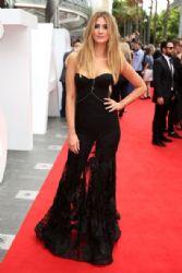 Delta Goodrem wears Steven Khalil - 2014 Aria Awards