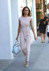 Jessica Alba: out and about