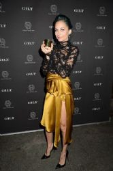 Nicole Richie wears Marchesa - Nicole Richie and Gilt celebrate the launch of The House Of Harlow 1960